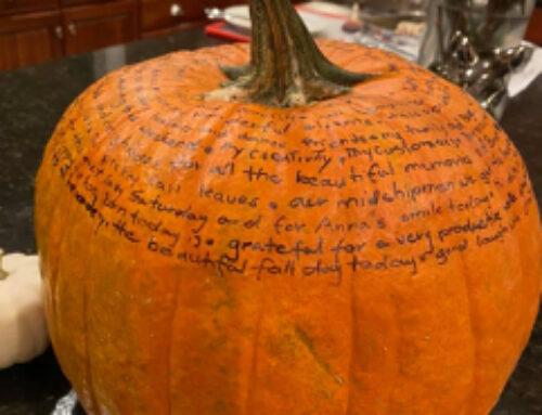 The Gratitude Pumpkin