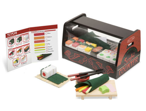 Melissa and Doug's Roll, Wrap, & Slice Sushi Counter
